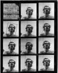 Untitled (Self-Portrait Contact Sheet)1967-1999