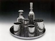 Baccarat Crystal Set from Luxury and Degradation1986